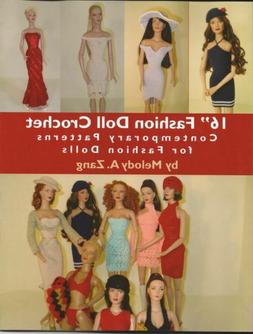 """16"""" Fashion Doll Crochet - Contemporary Patterns for Fashion"""