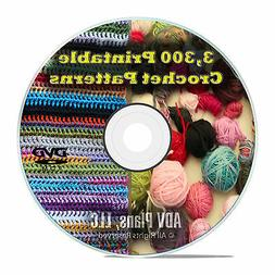3,300 Printable Crochet Patterns and Plans, How to Crochet A