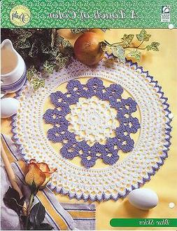 Blue Skies Crochet Doily Pattern / Touch of Color / HOWB Col