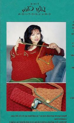 CELL PHONE CASE & BAG  & TOTE to CROCHET in WORSTED WEIGHT Y