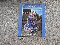 Fibre Craft, Cowgirl Doll Pattern OOP