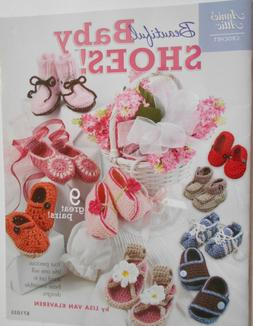 Crochet Book BEAUTIFUL BABY SHOES! Annie's Attic 9 Sweet Pat