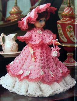 """Crochet Pattern Only ~ Potpourri 13"""" Cone Doll ~ Ruffly Dres"""