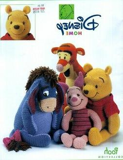 Disney Collection Crochet PATTERNS Pooh & Friends Tigger Eey