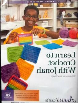 DVD Learn To Crochet With Jonah  For Beginner's   Annie's Vi