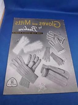 GLOVES AND MITTS BY BEEHIVE FOR THE WHOLE FAMILY PATTERN BOO
