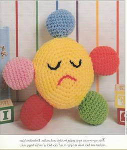 Happy Sad Baby Toy - Smile on one side, Frown on other - Cro