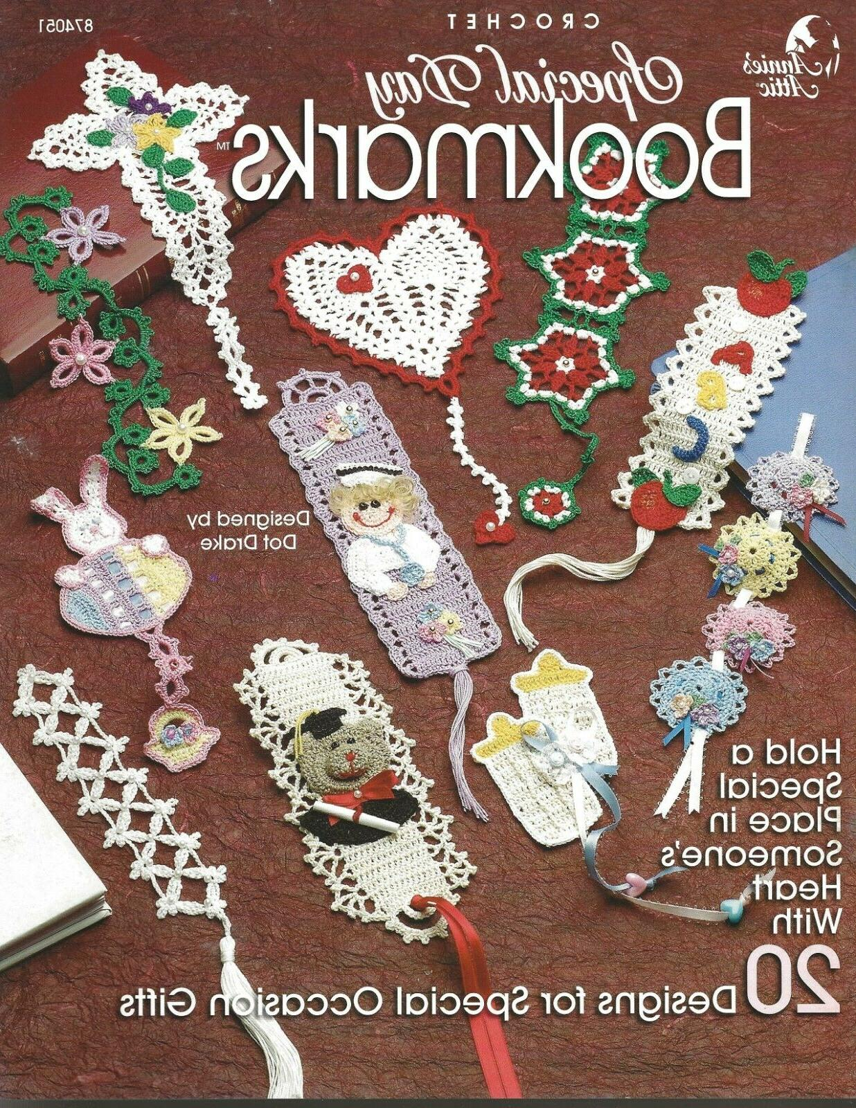 crochet special day bookmarks annie s attic