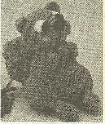 squirrel toy crochet pattern instructions