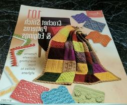MAY20 ANNIE'S ATTIC 101 CROCHET STITCH PATTERNS & EDGINGS, 2