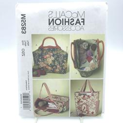 McCall's 5283 Pattern BAGS ~ FASHION ACCESSORIES ~ Knitting