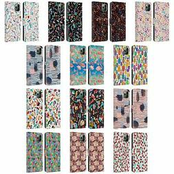 OFFICIAL NINOLA PATTERNS LEATHER BOOK CASE FOR APPLE iPHONE