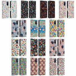 OFFICIAL NINOLA PATTERNS LEATHER BOOK WALLET CASE COVER FOR