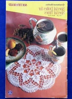 special doilies for special times crochet designs