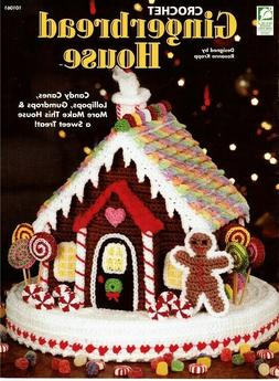 Sweet GINGERBREAD HOUSE House of White Birches CROCHET Patte