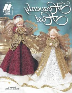Vintage Crochet Lace ANGELS Table Top & Tree Topper Pattern